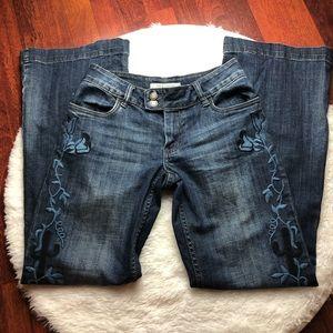 STETSON Embroidered City Trouser #214 Sz 6 EUC